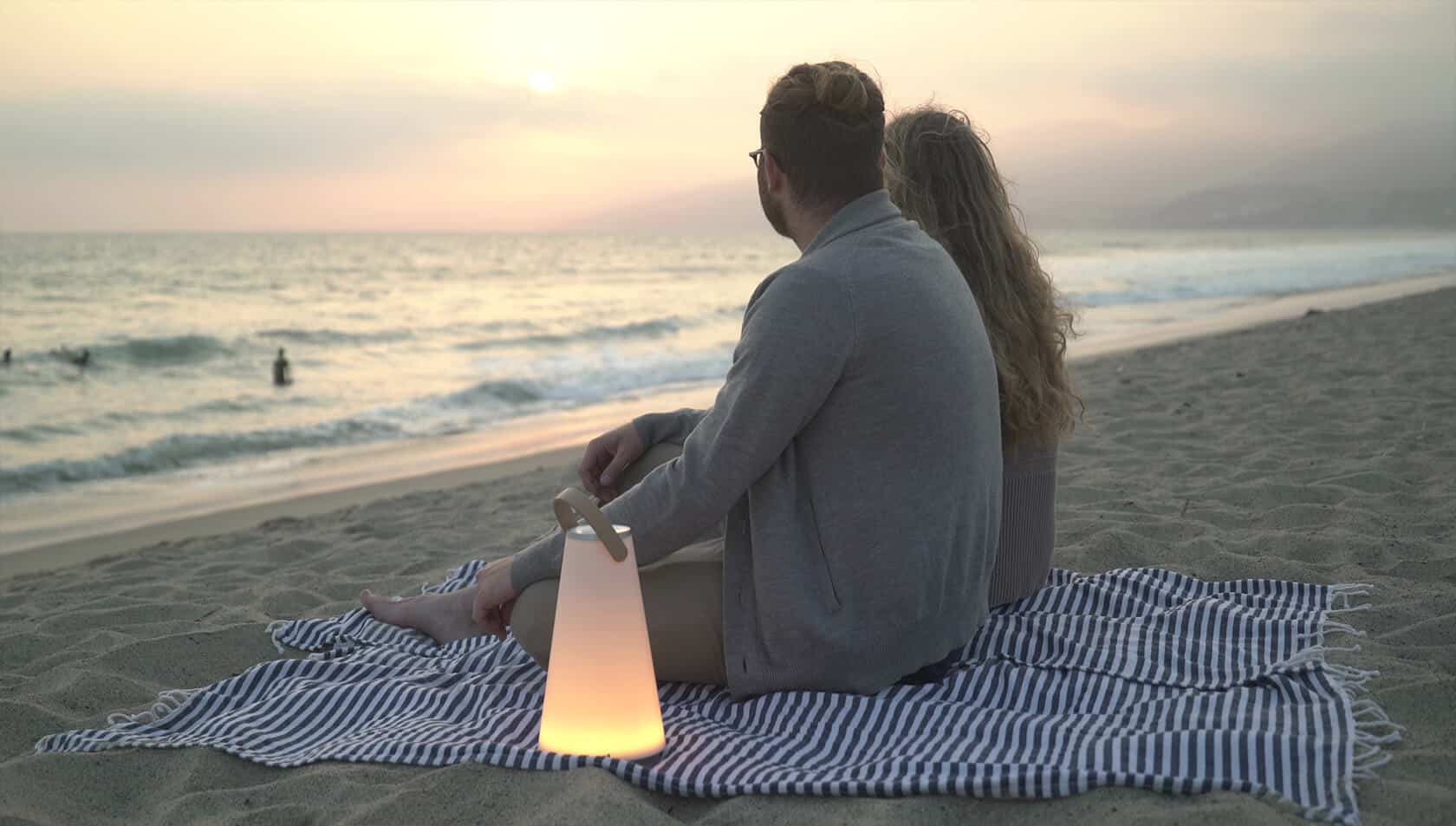 Uma Beach Couple