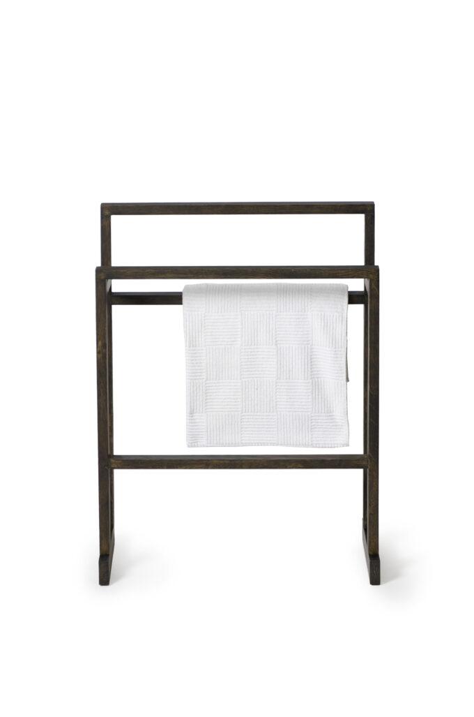 Towel Rail Dark Oak