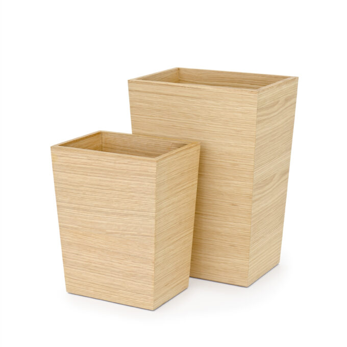 Bin Rectangular Oak