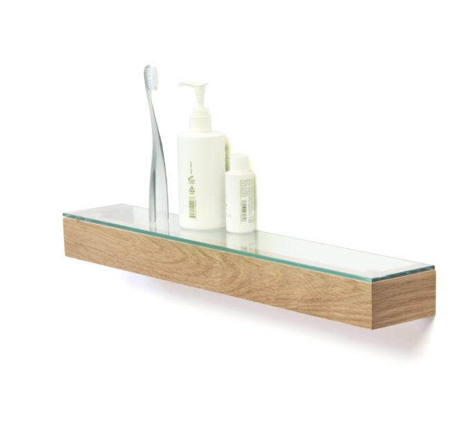 Glass Shelf Oak