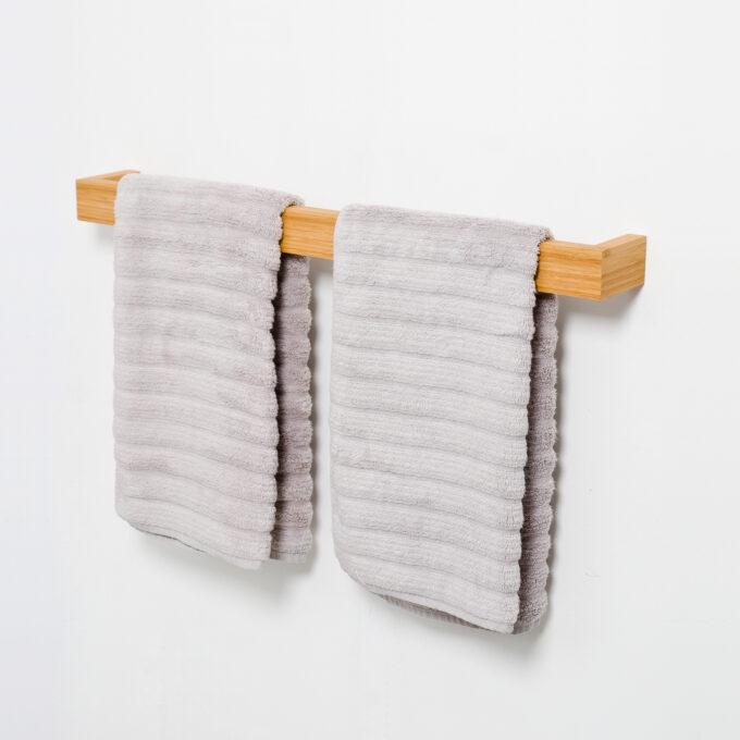 Towel Rail Bamboo