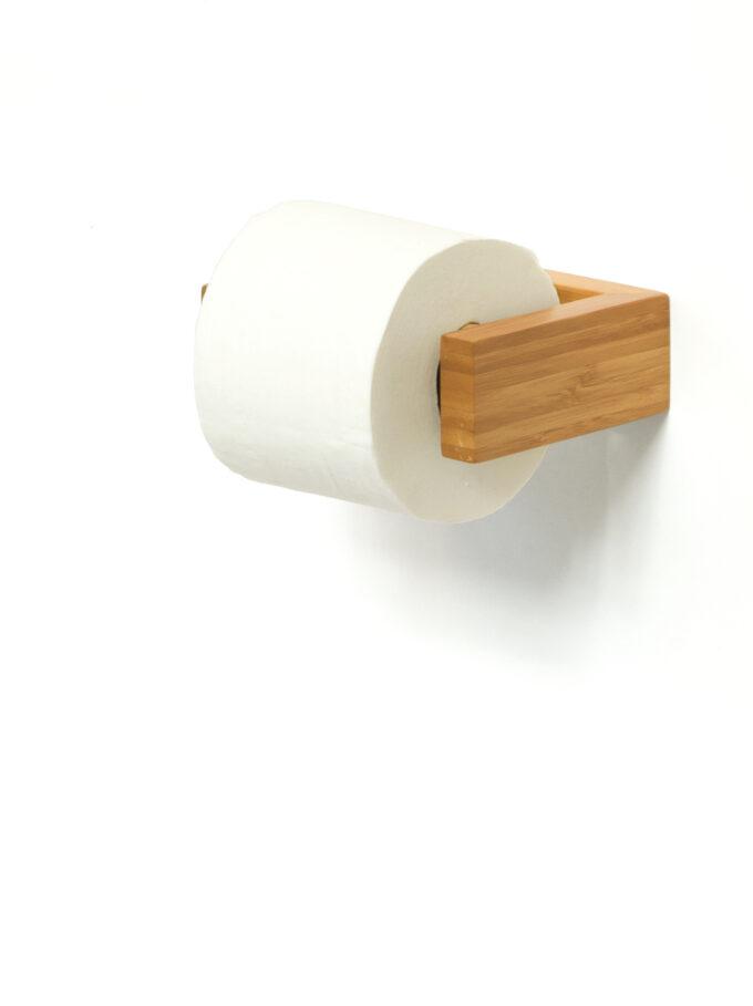 Toilet Roll Holder Bamboo