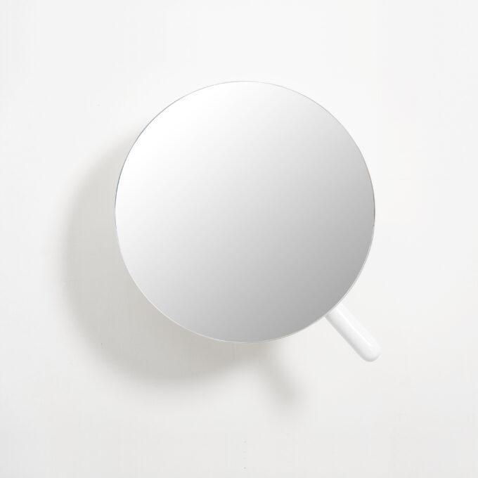 Magnifying Mirror White