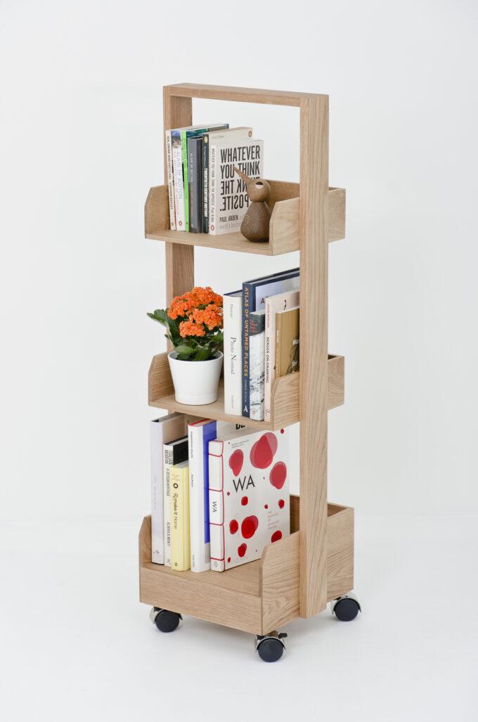 Mini Bookie Roller Shelf