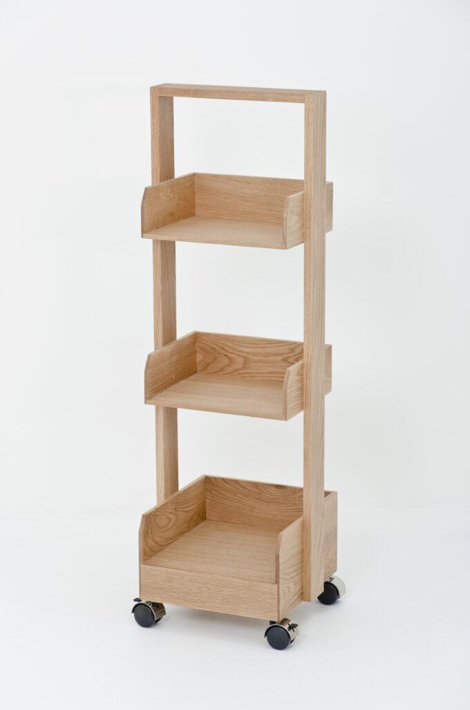 Mini Booker Roller Shelf