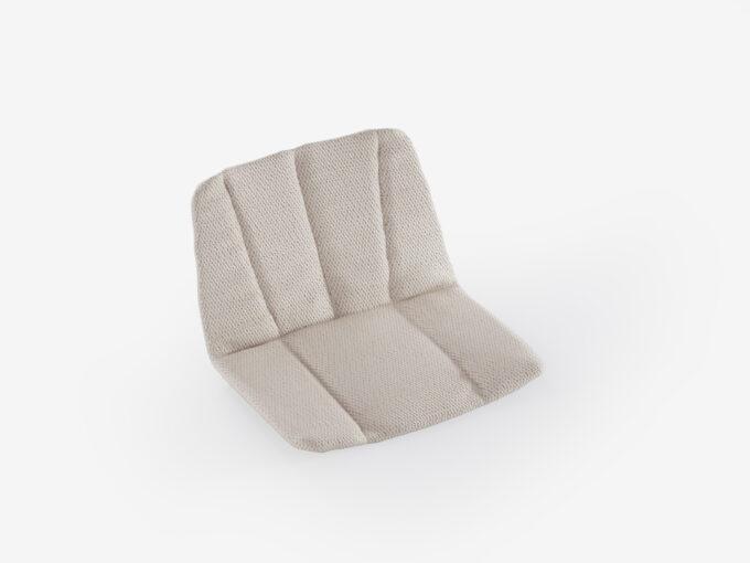Cushion lounge armchair