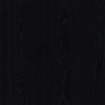 Open pore matt black ashwood