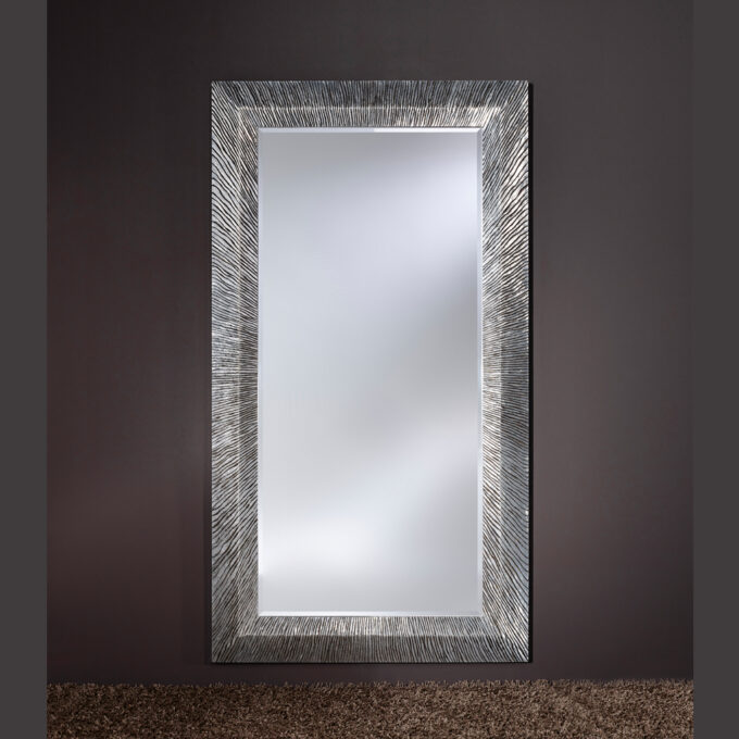 Groove Silver Mirror