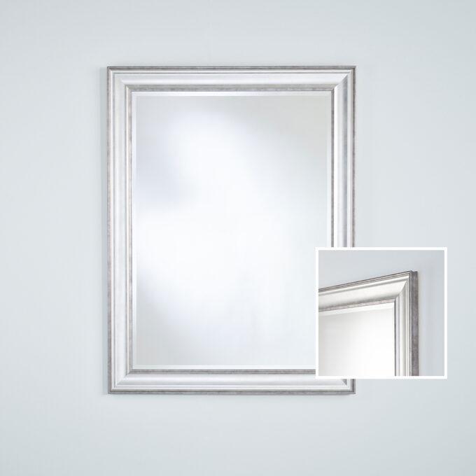 Lorca Silver Rectangle Mirror