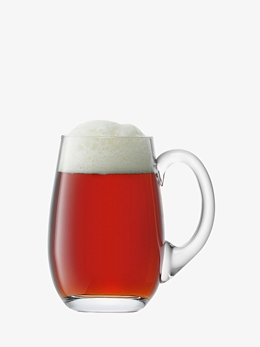 Bar Beer Tankard Curved