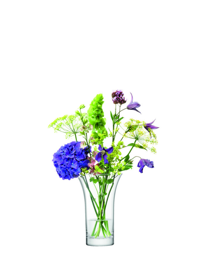 Flared Bouquet Vase 22cm