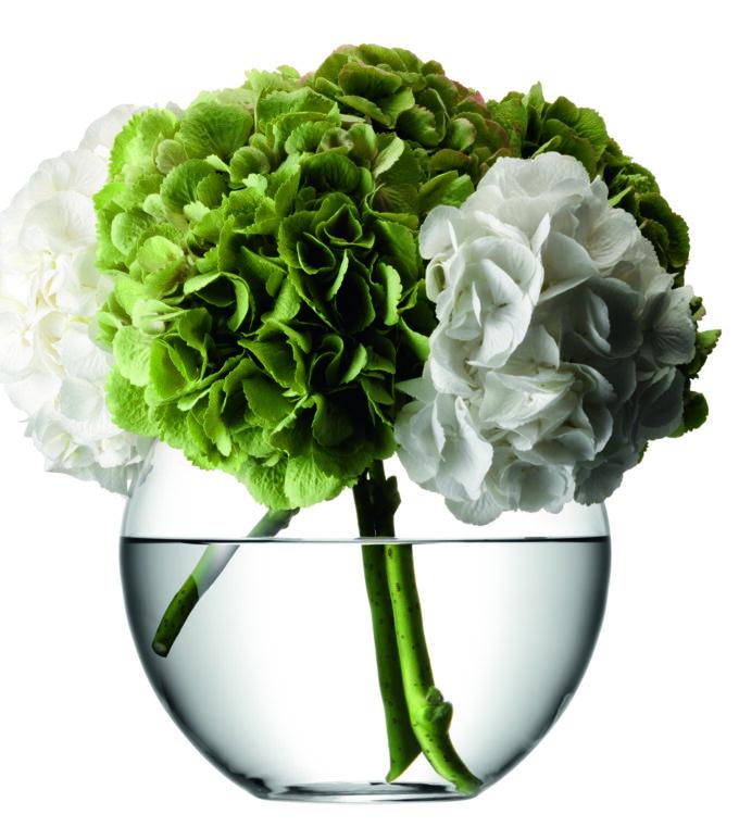 Round Boquet Vase