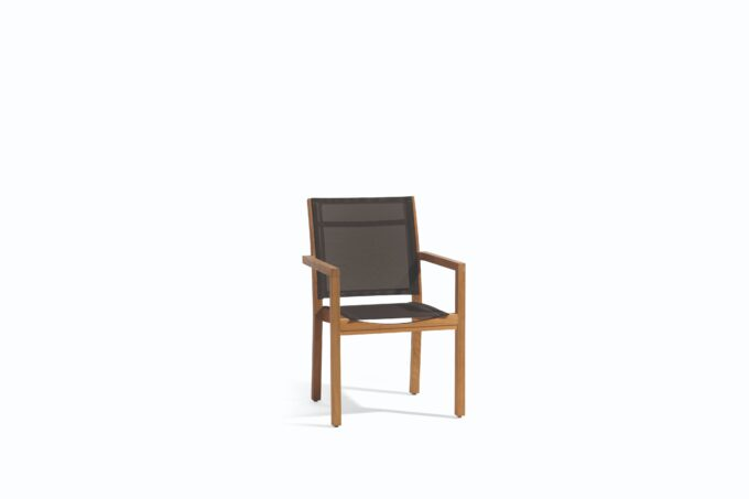 Teak Chair - Fabric