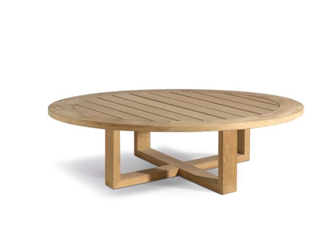 Siena Circular Teak Coffee Table