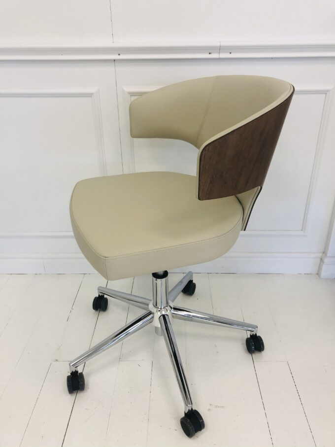 Wing Wood Office Chair