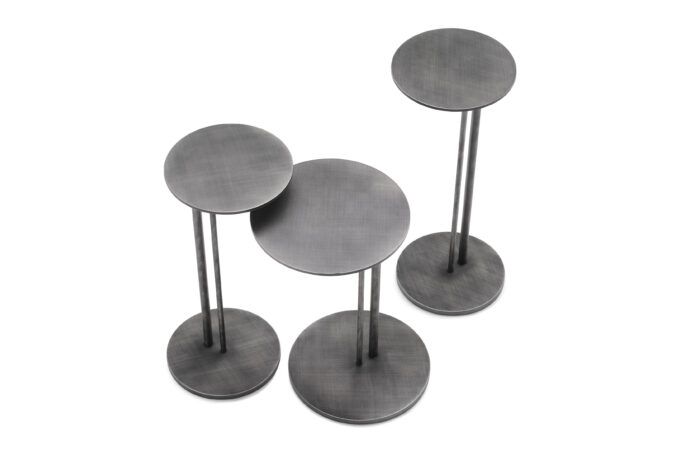 Brushed Sting Side Tables