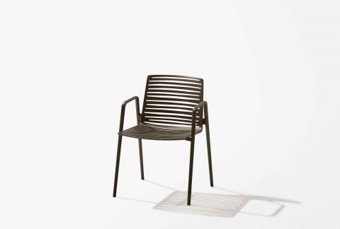 Zebra Chair with Arms
