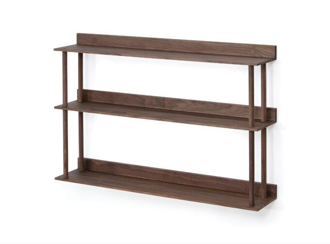 Platform 3 shelf Walnut
