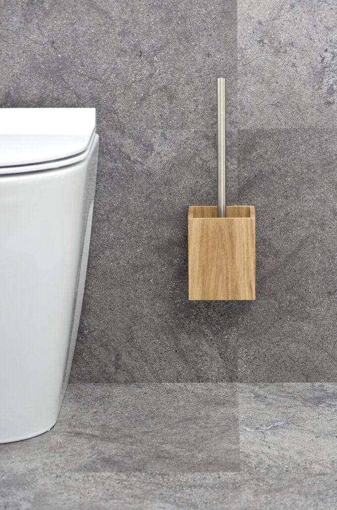 Toilet Brush Oak