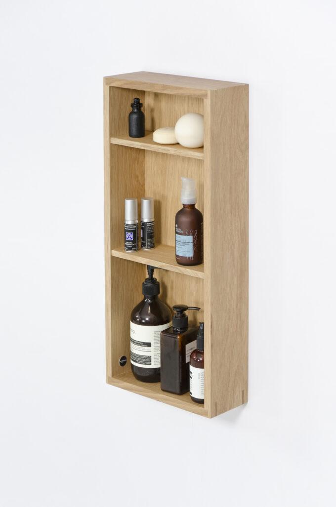 Box Shelf Slimline Oak