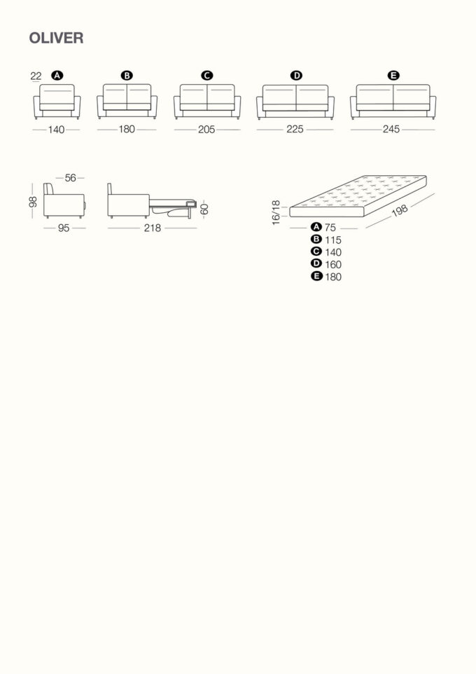 Oliver Technical Sheet