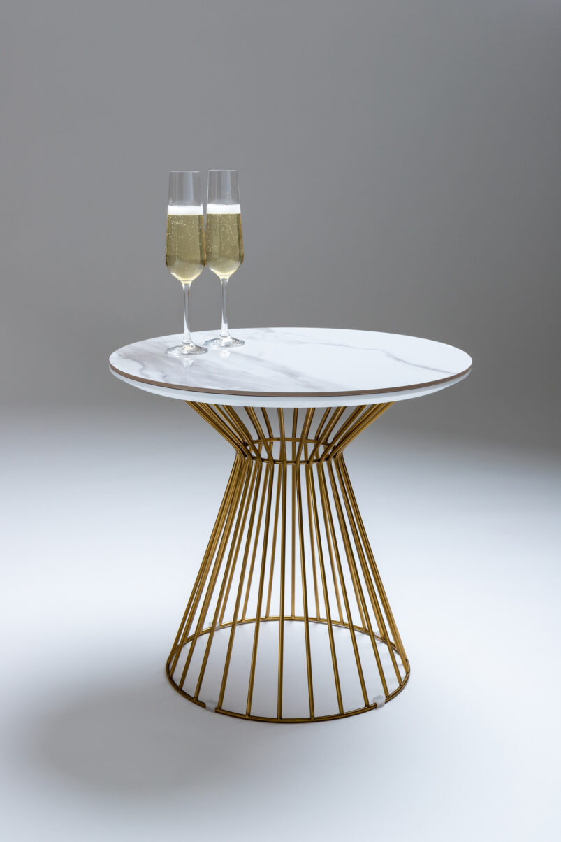 Cage Circular Side Table