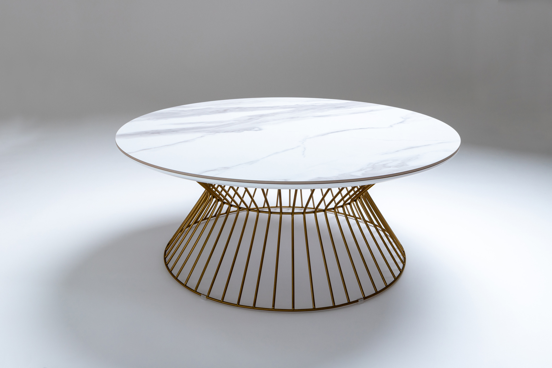 Cage Circular Coffee Table