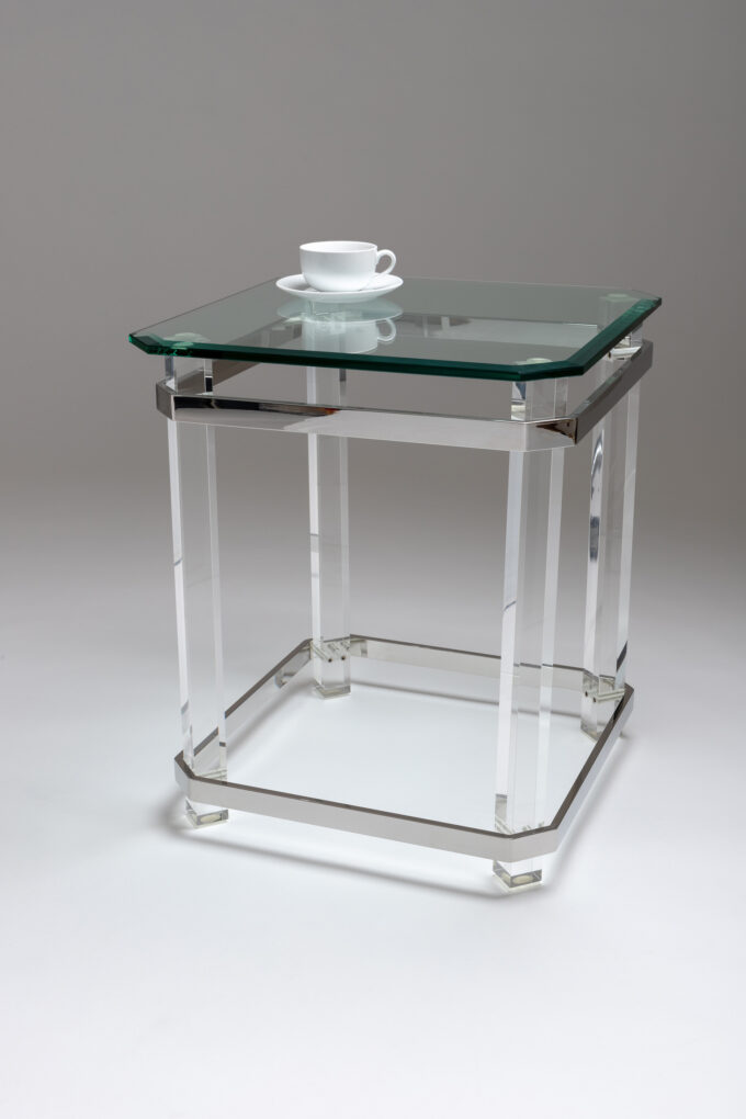 Beaumont Square Lamp Table