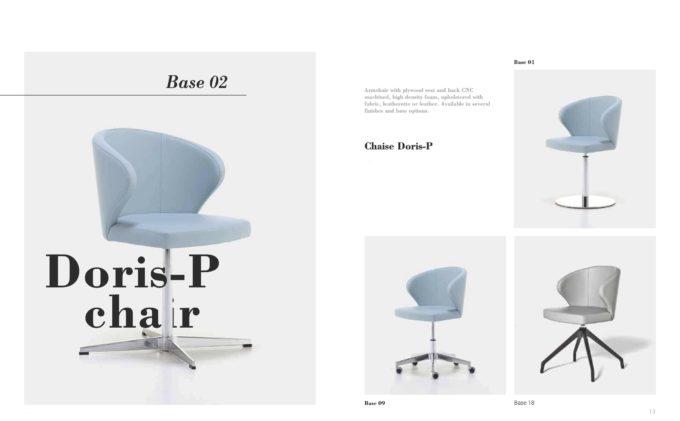 Doris P Chair Fact Sheet