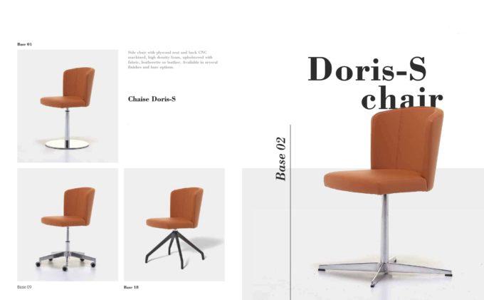 Doris S Chair Fact Sheet