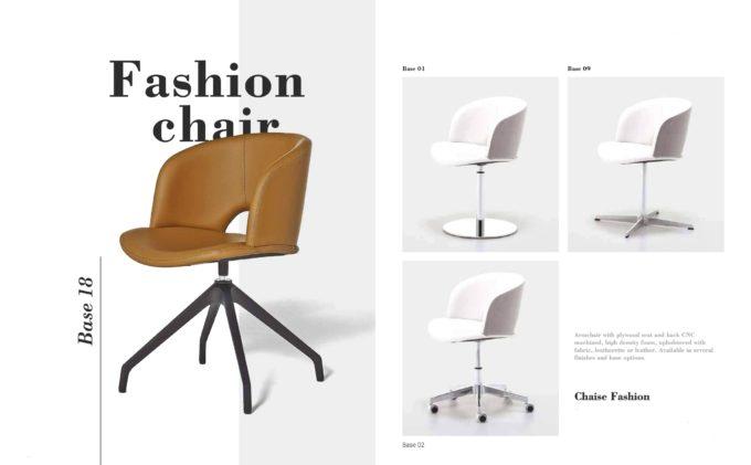 Fashion Chair Fact Sheet