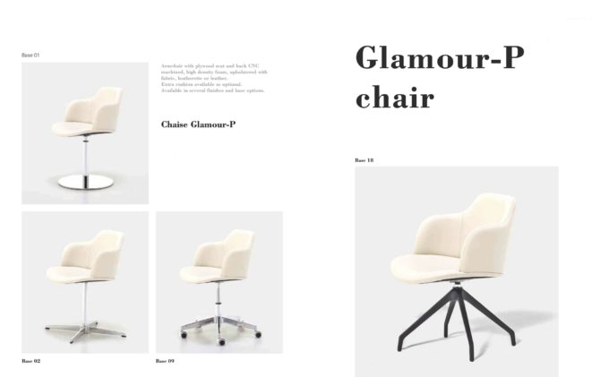 Glamour P Chair Fact Sheet