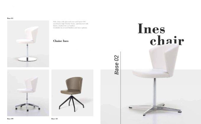 Ines Chair Fact Sheet