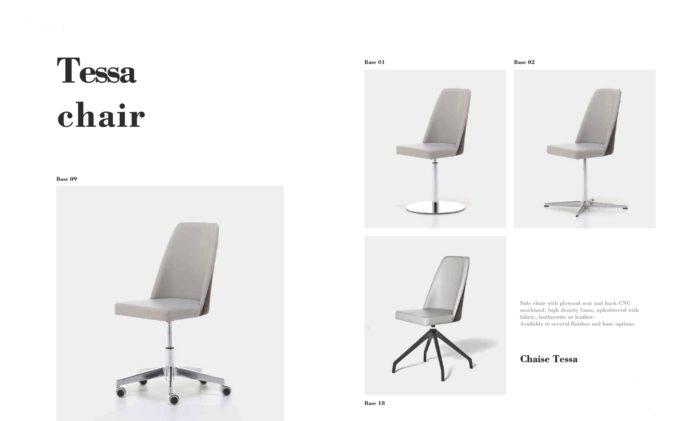 Tess Chair Fact Sheet