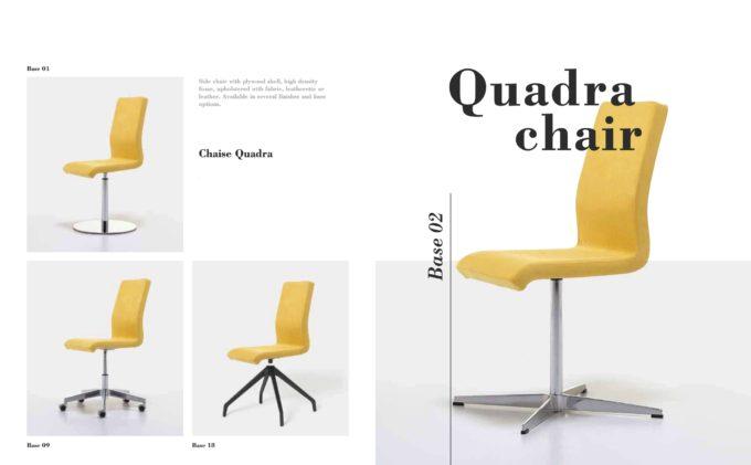 Quadra Chair Fact Sheet