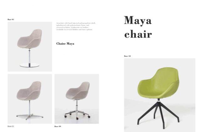 Maya Chair Fact Sheet