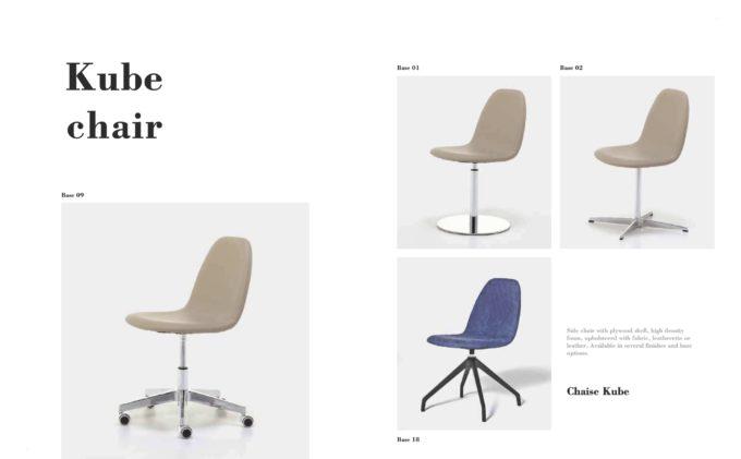 Kube Chair Fact Sheet