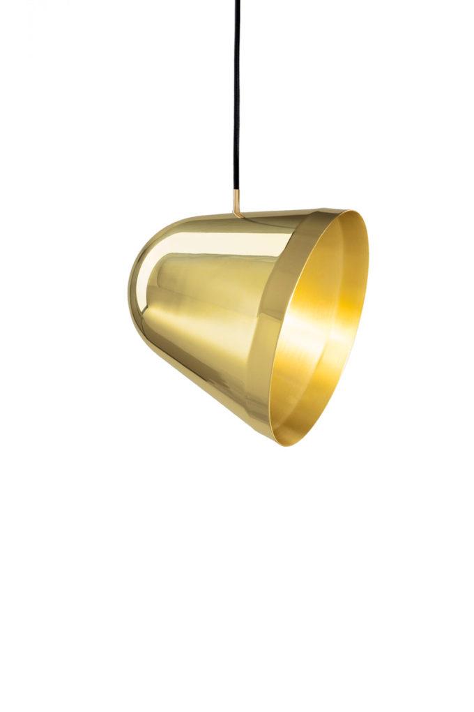 Tilt Pendant Brass