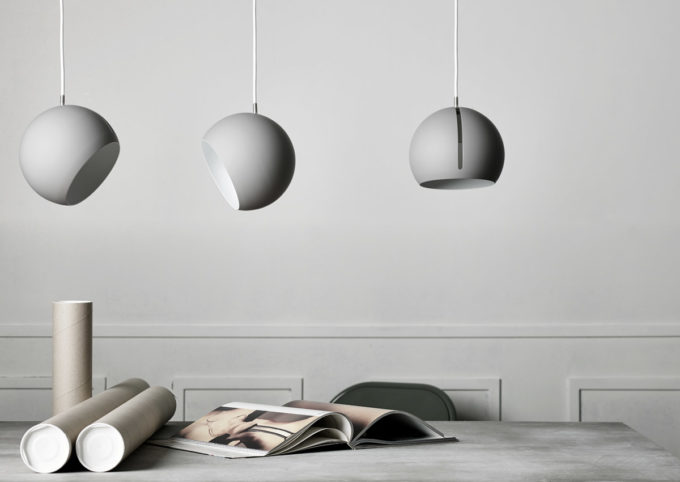 Tilt Globe Grey