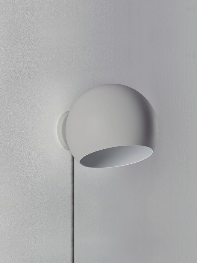 Tilt Globe Wall Short Grey -Grey Cable
