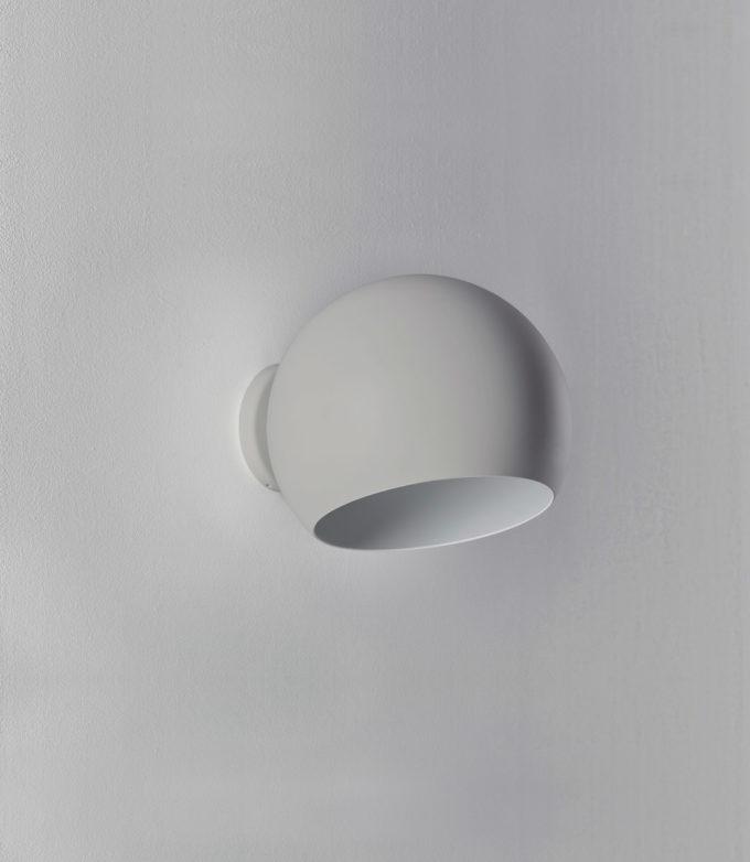 Tilt Globe Wall Short Grey