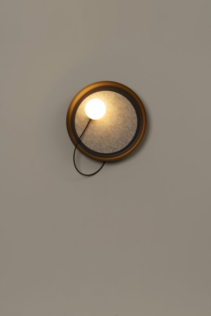 Wire Wall Light