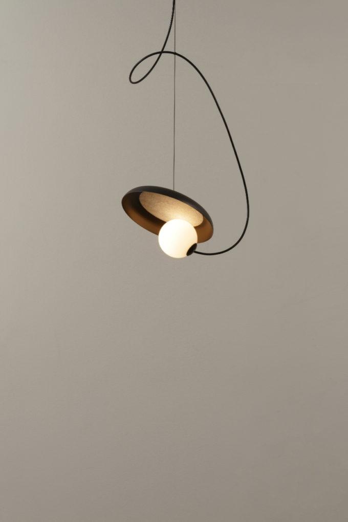 Wire Pendant Light