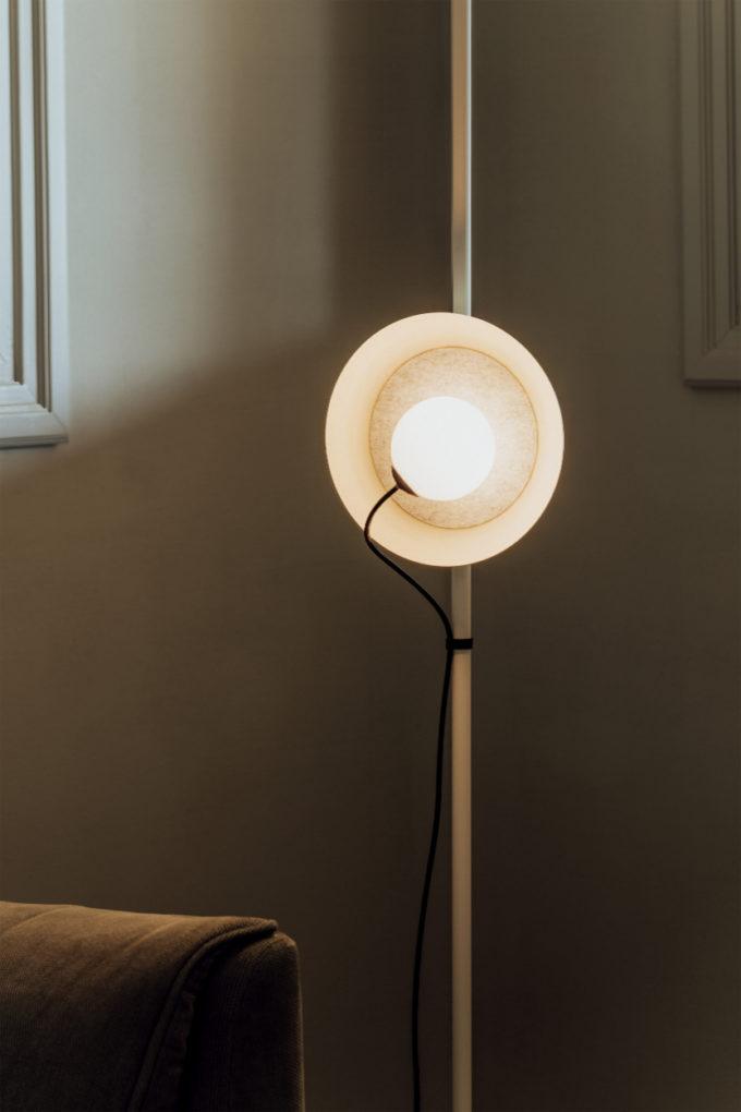 Wire Floor Lamp