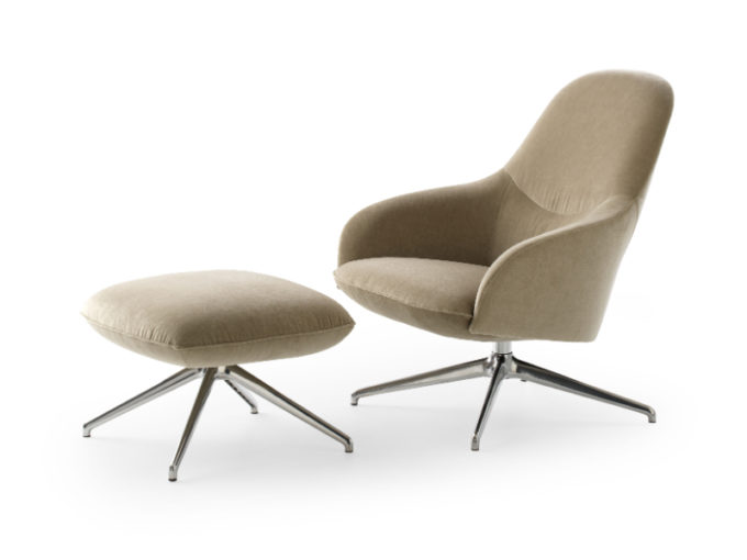 Lanah Armchair with Footstool