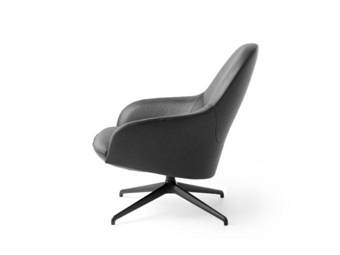 Lanah Leather Armchair