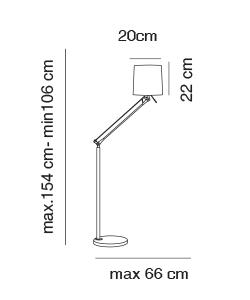 Work Floor Lamp Technical Detail