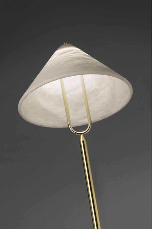 fuji floor lamp detail