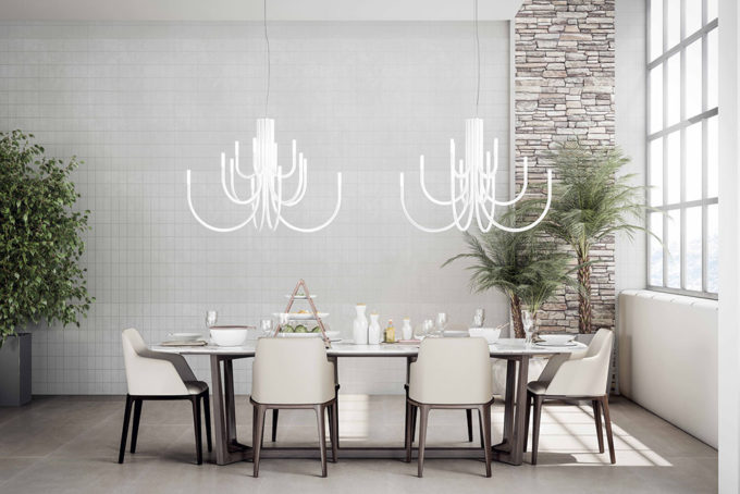 The Palm Chandelier