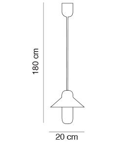 Capsule Hat Suspension Light